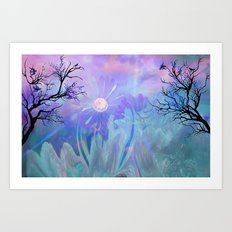 Got The Blues, Forget it..These Blues Will Cheer You Art Print