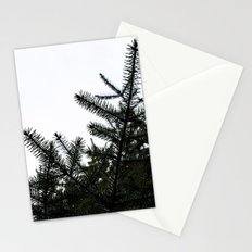 Pine Silhouette Stationery Cards