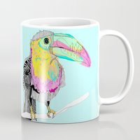 toucan Mugs featuring Toucan by caseysplace