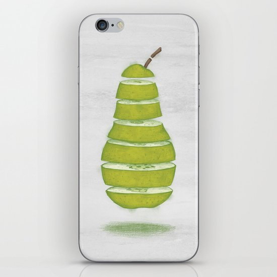 A Pear Apart iPhone & iPod Skin