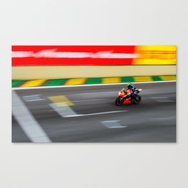 Top Speed Finish Canvas Print