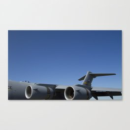 C17 C-17 Globemaster Military Cargo Airplane/Aircraft USAF Canvas Print