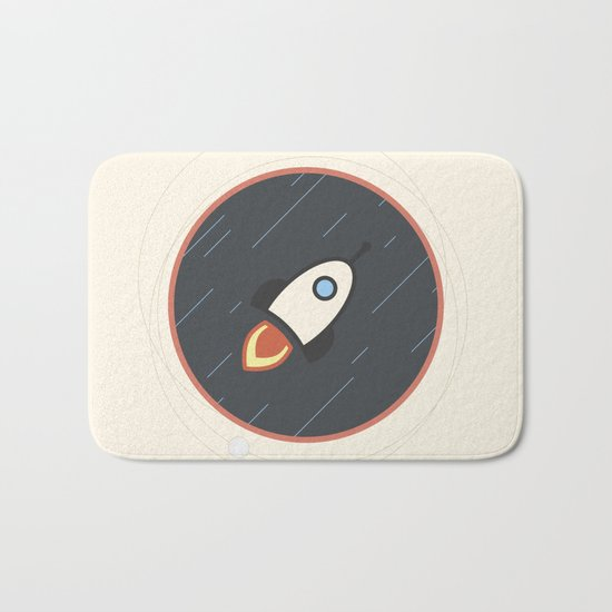 Rocket Bath Mat