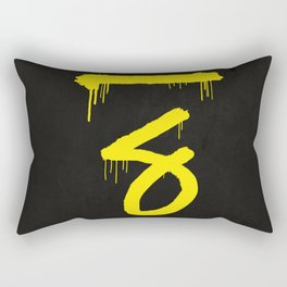 No. 7. Dead Man Rectangular Pillow