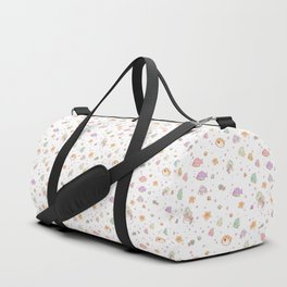 Cute sea creatures pattern Duffle Bag