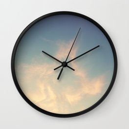 Wandering in the clouds Wall Clock