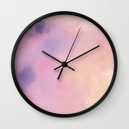 Pastel Water Wall Clock