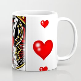KING OF HEARTS CASINO FACE CARD ART Coffee Mug
