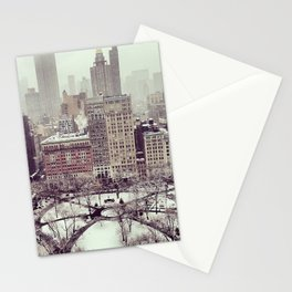 Mad Sq. Park, Winter 2013 Stationery Cards