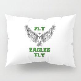 fly eagles fly philadelphia Pillow Sham