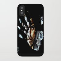 fringe iPhone & iPod Cases featuring Fringe by D77 The DigArtisT