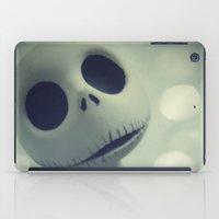 nightmare before christmas iPad Cases featuring Mr. Jack (Nightmare Before Christmas) by LT-Arts