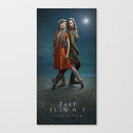 Take Flight Poster: A film By Krystal Bartlowe Canvas Print