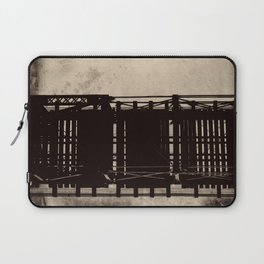 bridge to a simpler time Laptop Sleeve