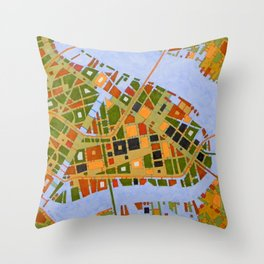 cypher number 17 dallas Throw Pillow