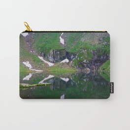 Green Lake Reflection Carry-All Pouch