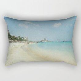 Vintage Aruba Rectangular Pillow