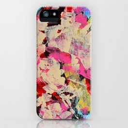 Implosion of Tulips iPhone Case