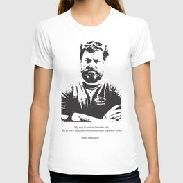 Ron Swanson - woodworker quote about the newborn T-shirt