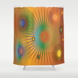 High Vibrations 5.5 Shower Curtain