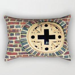 Bishop McDevitt Window Rectangular Pillow