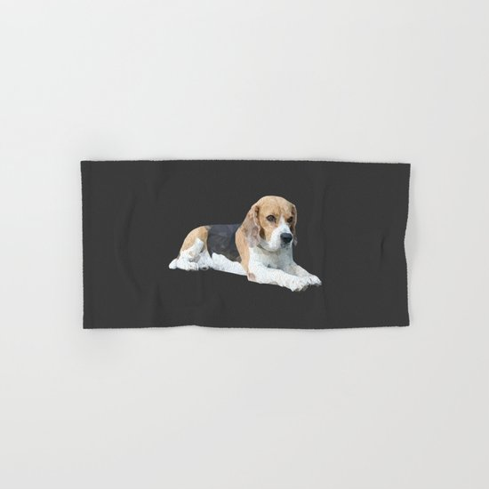 Beagle Dog #3 Hand & Bath Towel