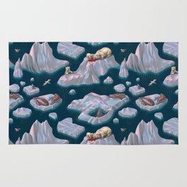 Icebergs Rug