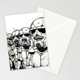 The Undead Troopers Stationery Cards