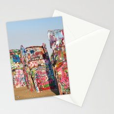 Amarillo Cadillac Ranch #5 Stationery Cards