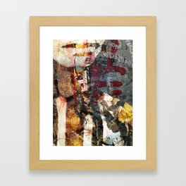 West 47th and Lafayette Framed Art Print