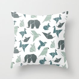Animals pattern Throw Pillow