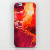 phoenix iPhone & iPod Skins featuring Phoenix by Wahndur