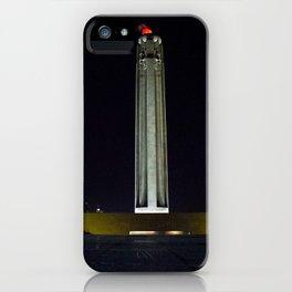 Liberty Memorial at Night iPhone Case