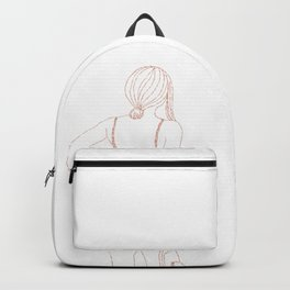 Waiting for summer in glitter Backpack