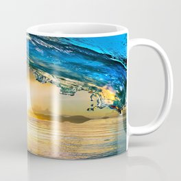 Glowing Wave Coffee Mug