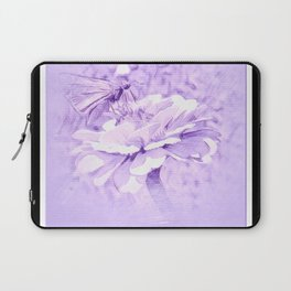 Violet Tones For The Butterfly Laptop Sleeve