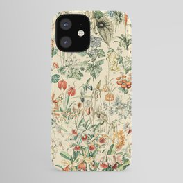 Flower Diagram // Fleurs V by Adolphe Millot XL 19th Century French Science Textbook Artwork iPhone Case