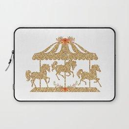 Glitter Carousel Laptop Sleeve
