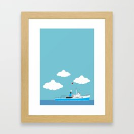 The Life Aquatic with Steve Zissou: The Belafonte Framed Art Print