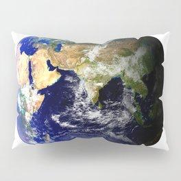 Earth Globe Pillow Sham