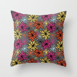 Weird and wonderful (Seedpods) Throw Pillow