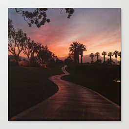The Constant Path of Self-Discovery Canvas Print