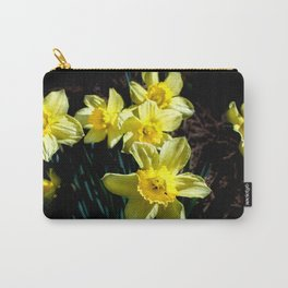 Daffodils in the dark. Carry-All Pouch