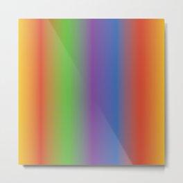 Sunrise Rainbow Shades Metal Print