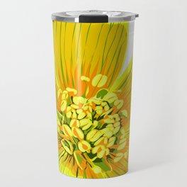 Eranthus - Winter Aconite Flower Travel Mug