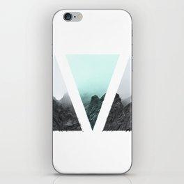 Rocks in blue iPhone Skin