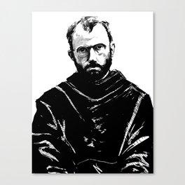 St Maximilian Kolbe Canvas Print