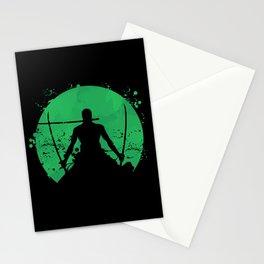 Roronoa Zoro Stationery Cards
