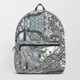 OLD JUNIPER BLACK AND WHITE VINTAGE Backpack