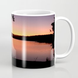 LAKE HENNESSEY - NAPA CALIFORNIA - SUNSET REFLECTION Coffee Mug
